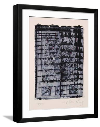Dialects of Paradise I - Darker-Tighe O'Donoghue-Framed Art Print