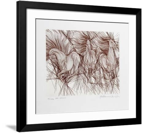 Andante-Guillaume Azoulay-Framed Art Print