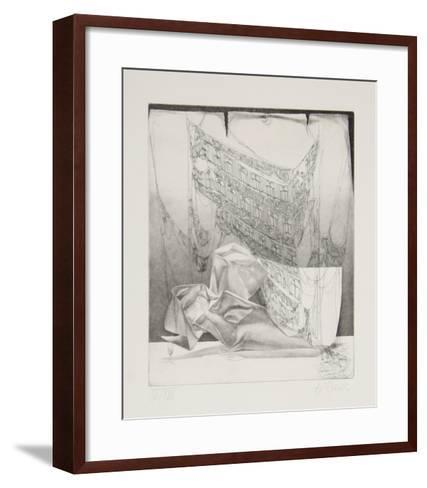 The Parchment Suite - Happy Apocalypse #1-Rauch Hans Georg-Framed Art Print
