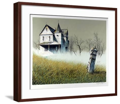 Haunted House-Wayne Cooper-Framed Art Print