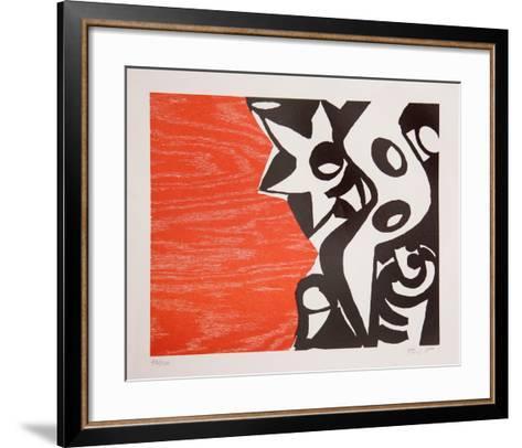 Untitled - b-Charlie Hewitt-Framed Art Print