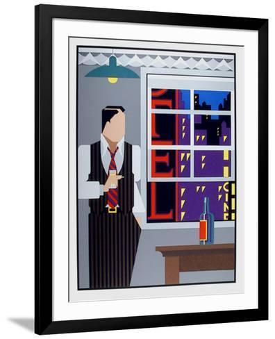 Traveling Salesman-Giancarlo Impiglia-Framed Art Print