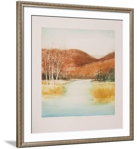 Birch Marsh-Harvey Kidder-Framed Art Print