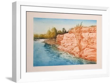 Red Rocks-Harvey Kidder-Framed Art Print