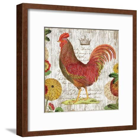 Rooster II-Suzanne Nicoll-Framed Art Print