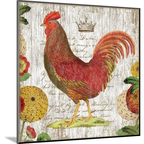 Rooster II-Suzanne Nicoll-Mounted Art Print