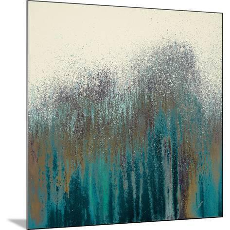 Teal Woods-Roberto Gonzalez-Mounted Art Print
