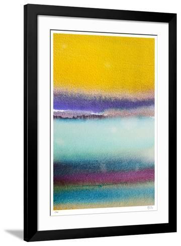 Rothkoesque 2-Mj Lew-Framed Art Print