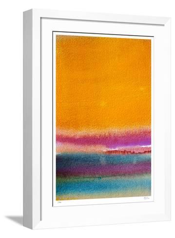Rothkoesque 4-Mj Lew-Framed Art Print
