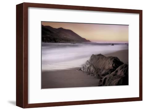 Garrapata Beach-John Rehner-Framed Art Print
