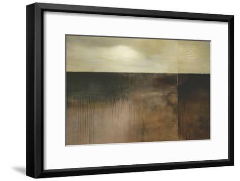 Deep Sienna Sky-Heather Ross-Framed Art Print