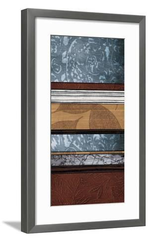 Pillars of Pattern I-W^ Blake-Framed Art Print