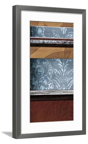 Pillars of Pattern II-W^ Blake-Framed Art Print