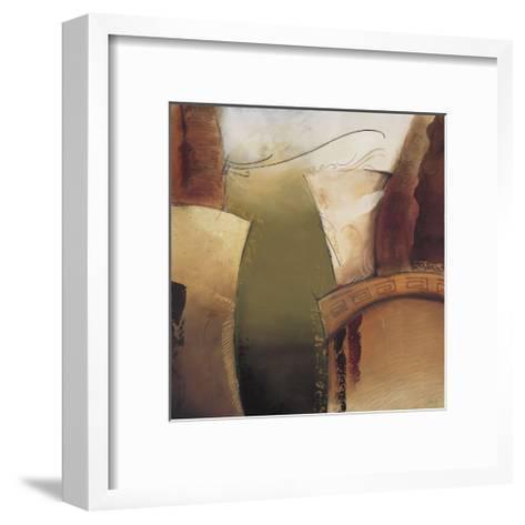 Emerging II-Kamy-Framed Art Print