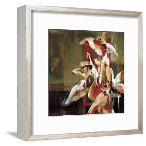 Tower of Flowers-Terri Burris-Framed Art Print