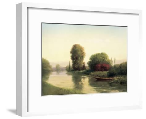 By the Riverside-Udell-Framed Art Print