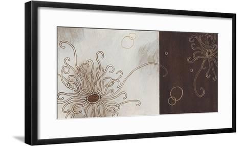 Balancing Blossoms II-Arleigh Wood-Framed Art Print