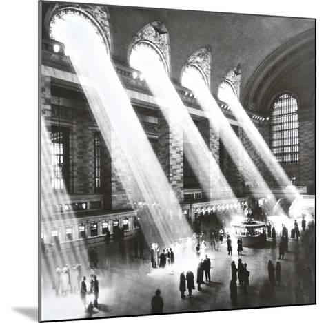 Grand Central Station , New York , 1934-Hal Morey-Mounted Art Print