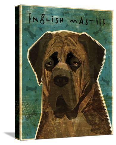 English Mastiff (Brindle)-John Golden-Stretched Canvas Print