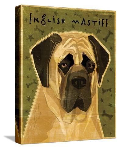 English Mastiff-John Golden-Stretched Canvas Print