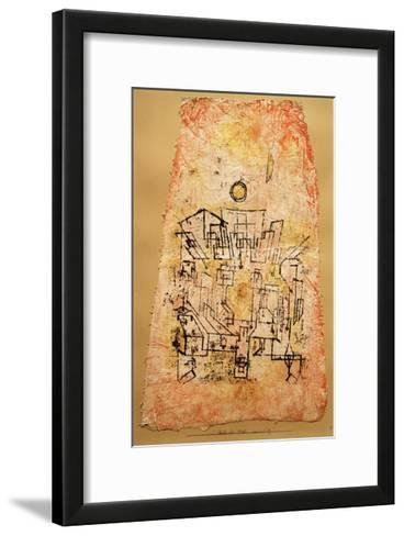 Arab City-Paul Klee-Framed Art Print