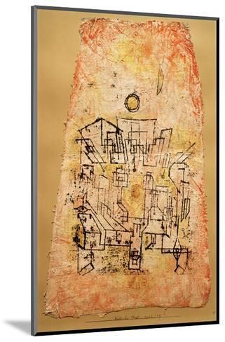 Arab City-Paul Klee-Mounted Giclee Print