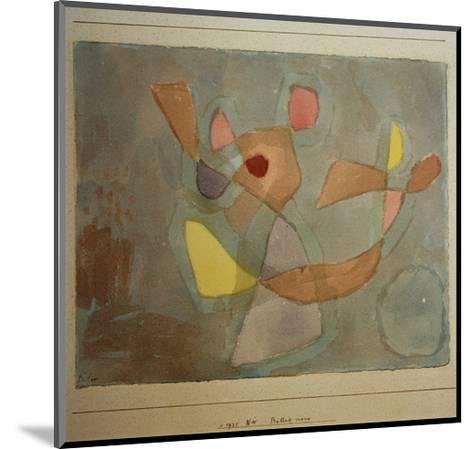 Ballet Scene-Paul Klee-Mounted Giclee Print