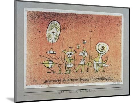 Bright Side Postcard-Paul Klee-Mounted Giclee Print