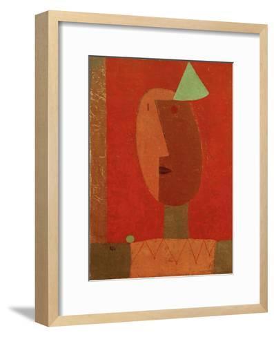 Clown-Paul Klee-Framed Art Print
