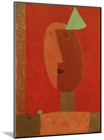 Clown-Paul Klee-Mounted Giclee Print