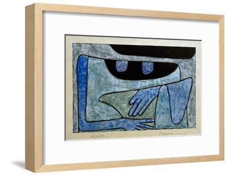 Daemonie-Paul Klee-Framed Art Print