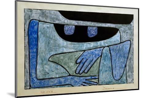 Daemonie-Paul Klee-Mounted Giclee Print