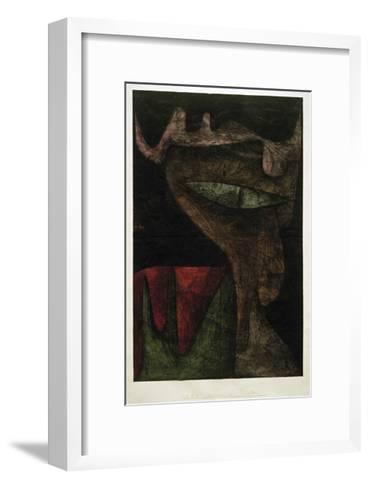 Demonic Lady-Paul Klee-Framed Art Print