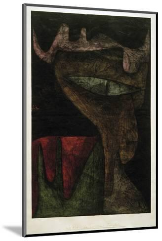 Demonic Lady-Paul Klee-Mounted Giclee Print