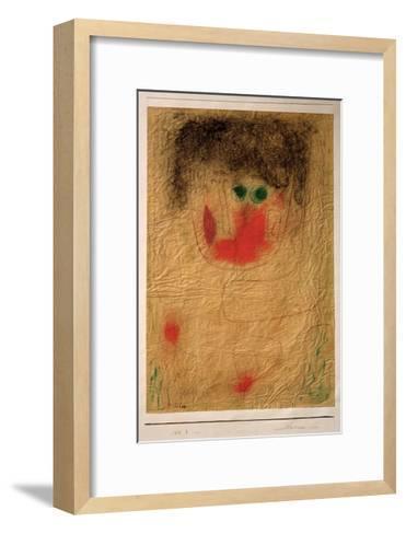Dulcinea-Paul Klee-Framed Art Print