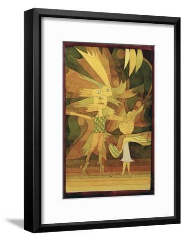 Figures from a Ballet-Paul Klee-Framed Art Print