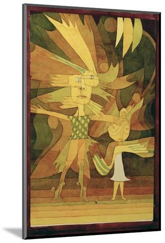 Figures from a Ballet-Paul Klee-Mounted Giclee Print