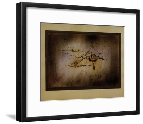 Fishing Boats-Paul Klee-Framed Art Print