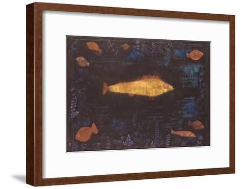 Golden Fish-Paul Klee-Framed Art Print