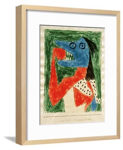 Hungry Girl-Paul Klee-Framed Art Print