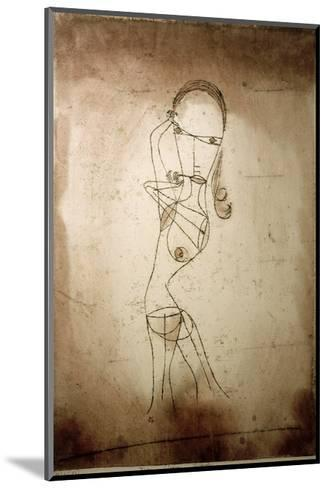 Knowledge, Silence Passing-Paul Klee-Mounted Giclee Print
