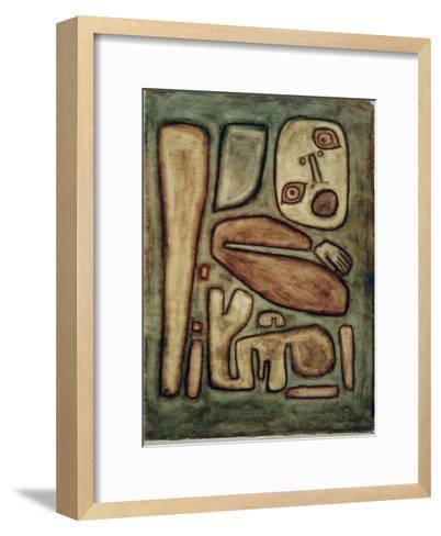 Outbreak of Fear III-Paul Klee-Framed Art Print
