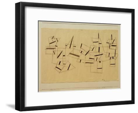 Reef Ship-Paul Klee-Framed Art Print