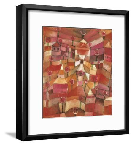 Rose Garden-Paul Klee-Framed Art Print