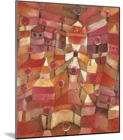 Rose Garden-Paul Klee-Mounted Giclee Print