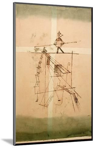 Tightrope Walker-Paul Klee-Mounted Giclee Print