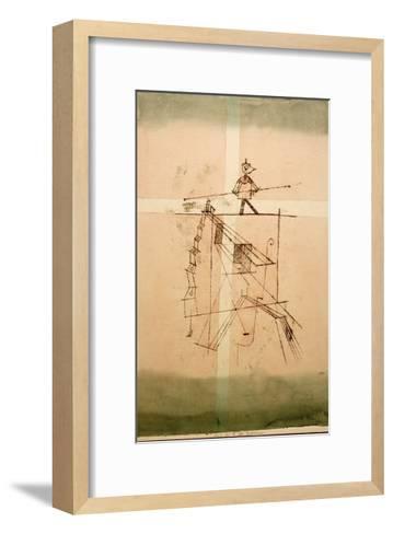 Tightrope Walker-Paul Klee-Framed Art Print