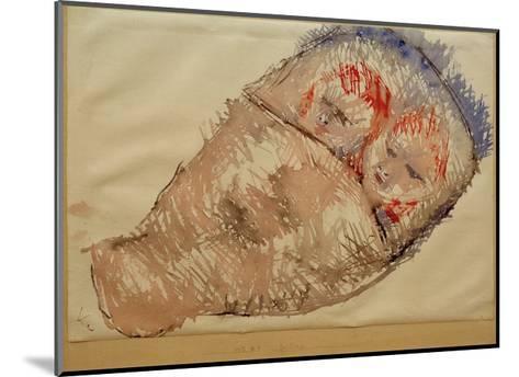 Twins-Paul Klee-Mounted Giclee Print