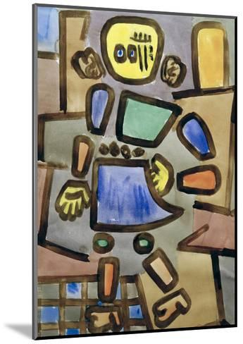 Untitled Mannequin-Paul Klee-Mounted Giclee Print