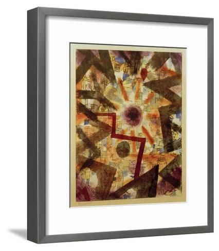 And There Was Light-Paul Klee-Framed Art Print